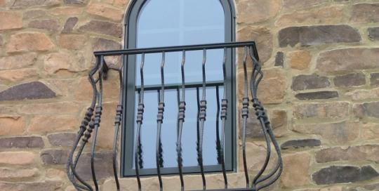 finelli ironworks custom window balcony in columbus ohio