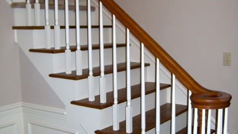 finelli ironworks custom wood spindles staircase handmade in north east ohio