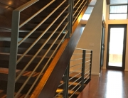 finelli iron works custom handmade wrought iron modern staircase railing quality made in chesterland ohio