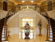finelli architectural iron and stairs custom handmade decorative wrought iron entry staircase and balcony railing quality made in cleveland ohio