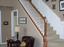 finelli architectural iron and stairs custom handmade wood spindles and staircase system made in ohio