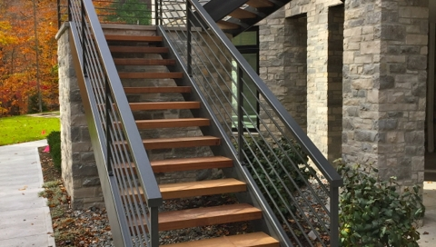 Exterior Contemporary Railings