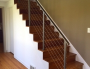 finelli iron custom luxury iron staircase handmade high end stainless steel shaker heights ohio
