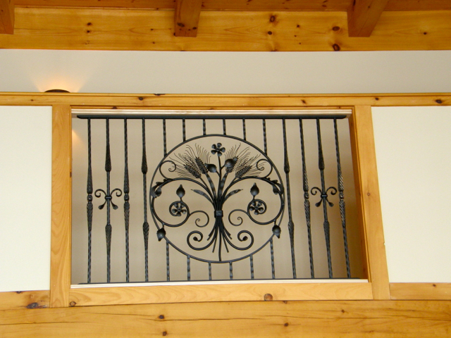 finelli iron luxury custom quality handmade iron and wood balcony forged in cleveland ohio