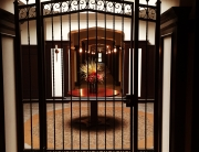 finelli iron works custom handmade wrought iron interior decorative gate pittsburgh