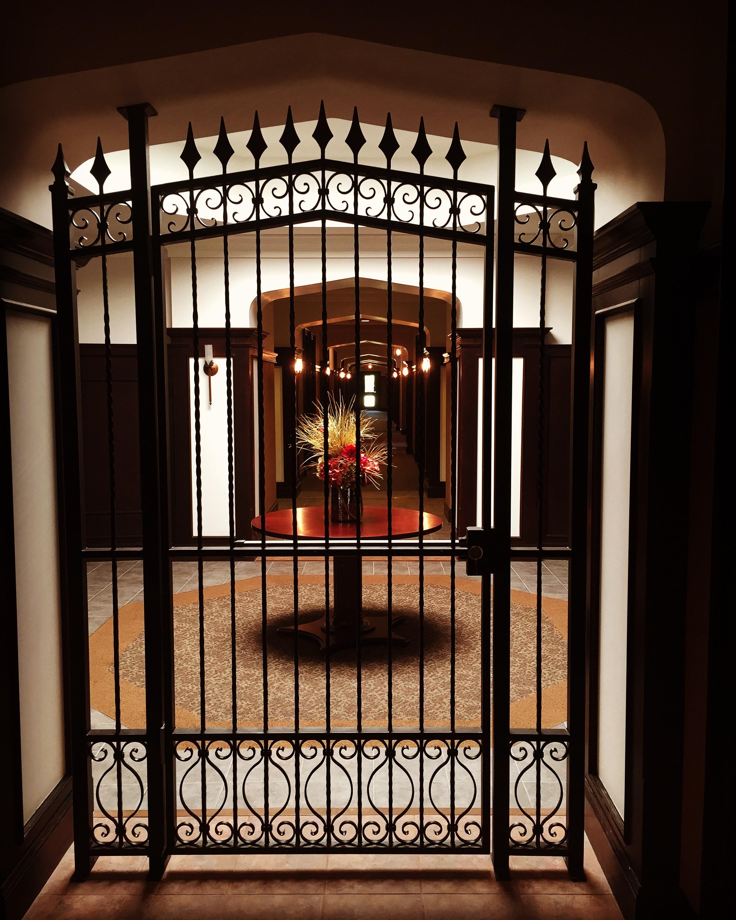 Finelli Iron Works Custom Handmade Wrought Interior Decorative Gate Pittsburgh