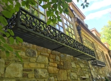 finelli iron works custom hand made aluminum ornamental designed flower box gates mills ohio