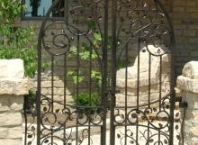 finelli iron ornamental designed handmade outdoor pool gate pittsburgh ohio