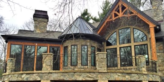 exterior iron railings
