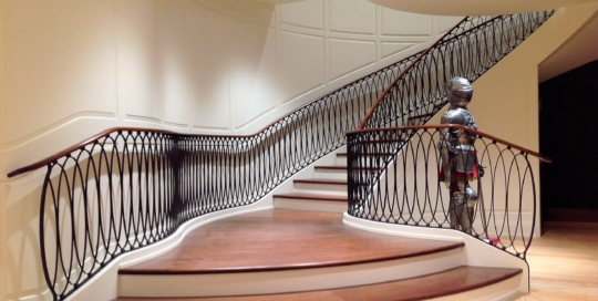 award winning iron railings
