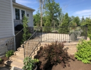 iron patio railing