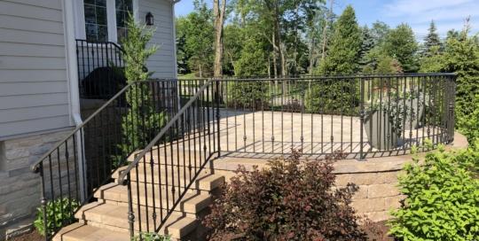 iron patio railing