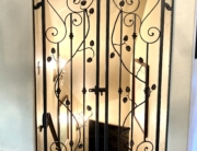 wine room gate
