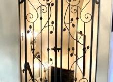 wine room gate