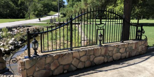 bridge fence panel