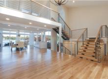 contemporary railing